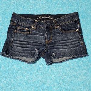 American Eagle Cut-off Jean Shorts size 6